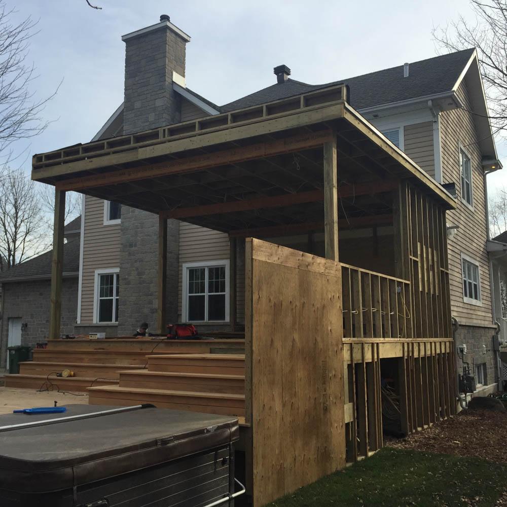 Projet terrasse en garapa ultimateck for Projet terrasse en 3d